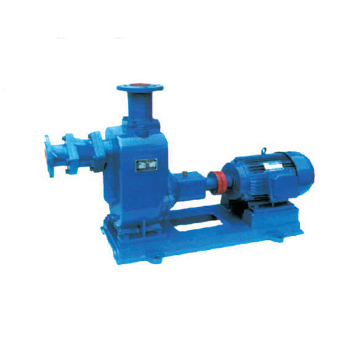 ZW self suction type non blocking sewage pump